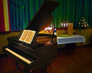 Pokój z pianinem